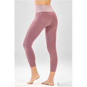 Fabletics High-Waisted Statement Heathered Capri